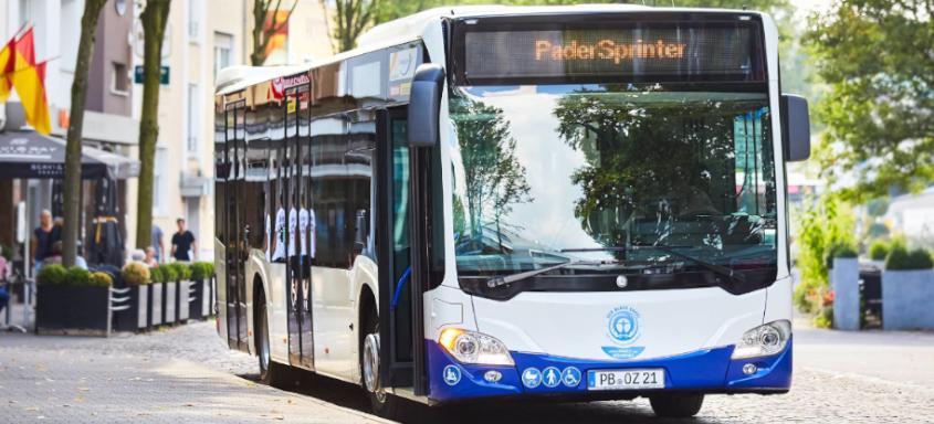 PaderSprinter Bus in Paderborn