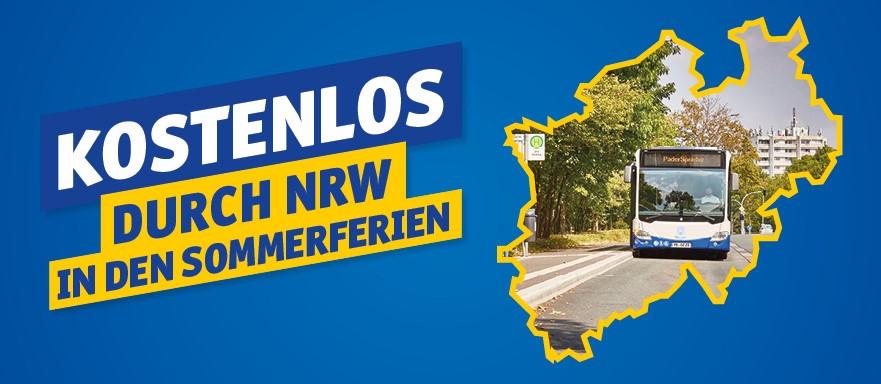 Treueaktion Abokunden- Kostenlos durch NRW in den Sommerferien
