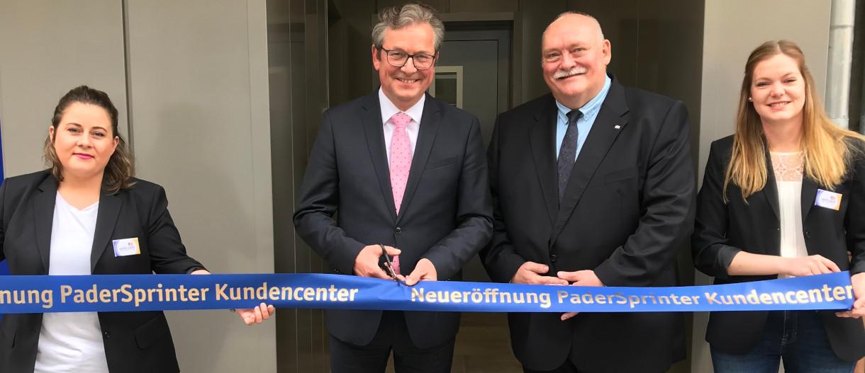 PaderSprinter eröffnet neues Kundencenter am Kamp 41