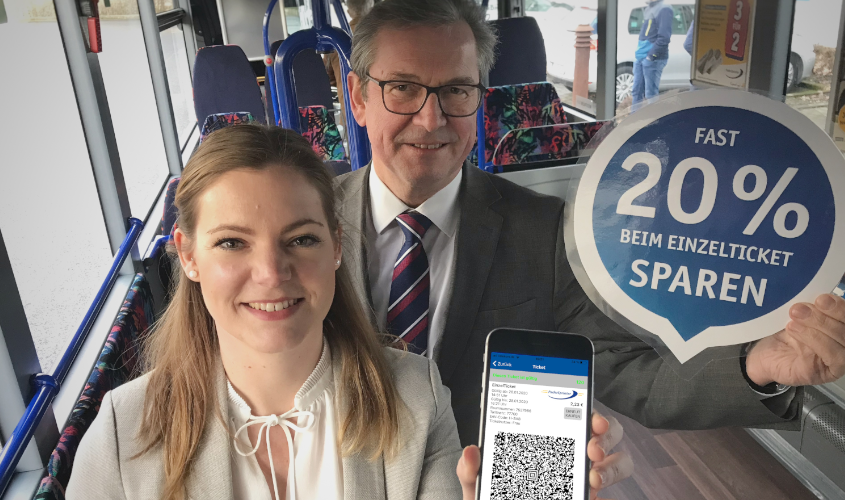 PaderSprinter Fahrplan-App mit Online-Ticket Kauf