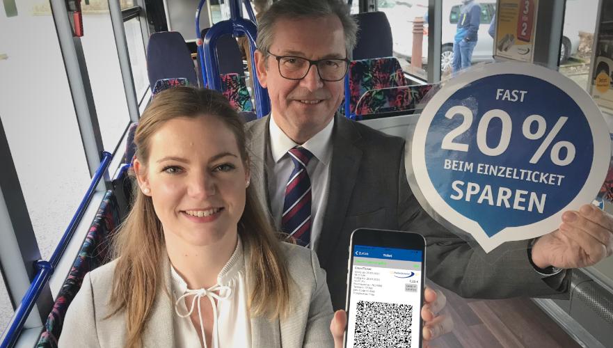 PaderSprinter Fahrplan-App mit Online Ticket Kauf