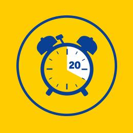 PaderSprinter icon Pünktlichkeitsgarantie